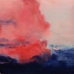 Sini-Meri Hedberg: Paluu, 2012, akryyli kankaalle, 100 x 150 cm
