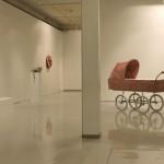 Yleiskuva Muutoksia-näyttelystä Galleria Mältinrannassa